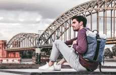 Sustainable Car Component Backpacks