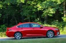 Buffed-Up American Luxury Sedans