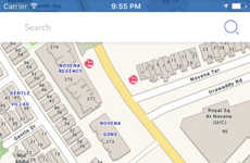 Integrated Mapping Apps