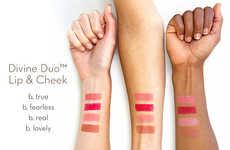 Sleek Dual-Purpose Makeup Palettes