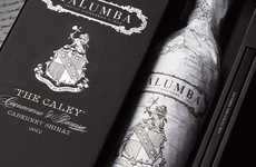 Cartographic Cabernet Bottles
