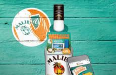 NFC-Enabled Rum Bottles