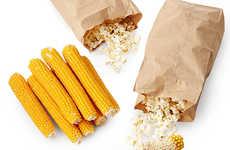 Fresh Popping Corn Cobs