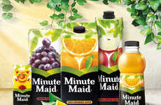 Contemporary Juice Rebrandings