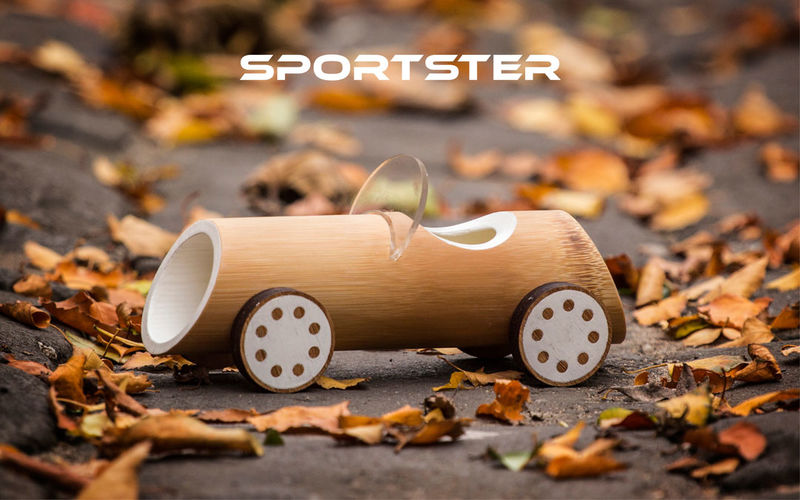 Bamboo Toy Cars