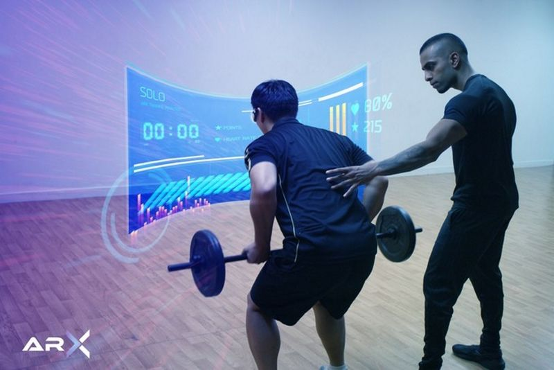 Gamified AR Workouts