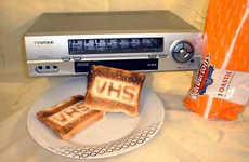 VCRs as Kitchen Appliances