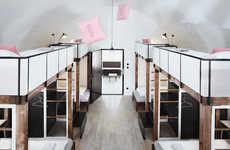 Contemporary Dorm-Style Hostels