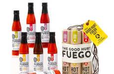 Bomb-Inspired Hot Sauce Packs