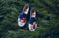 Cartoon Christmas Sneakers