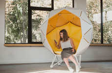 Enveloping Private Escape Chairs