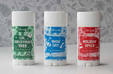 Seasonally Scented Deodorants