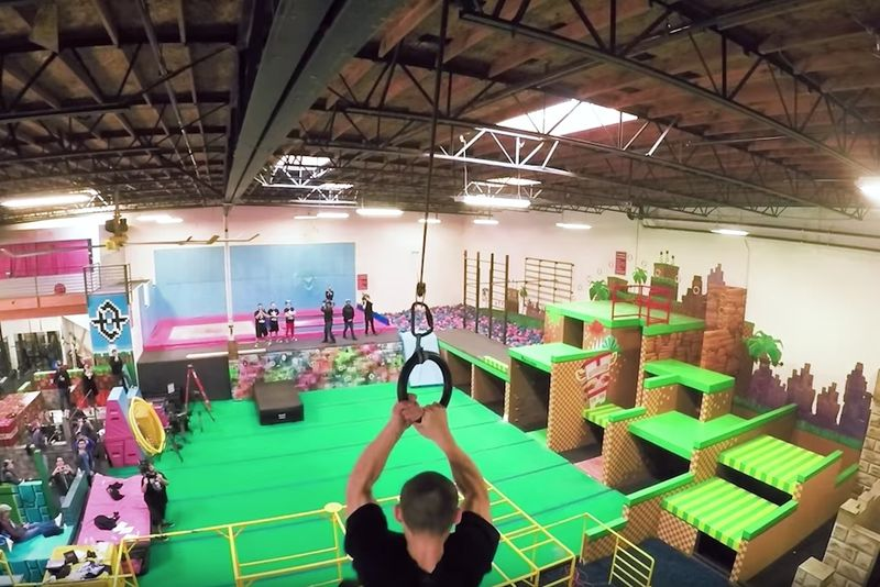 Video Game-Inspired Parkour Gyms