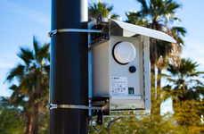 Outdoor Pollution-Monitoring Sensors