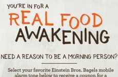 Breakfast-Themed Alarm Tones