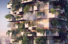 Treed Social Housing Projects