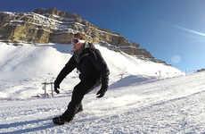 Bladeless Winter Sport Skis