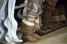 Thigh-High Sheepskin Boots