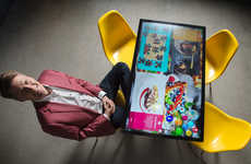Interactive Touchscreen Dining Tables