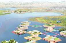 Floating Flood-Protection Villages