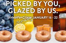 Social Glazed Doughnut Promotions
