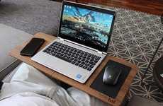 Portable Handmade Technology Desks