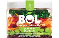 Globally Inspired Salad Jars