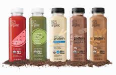Diverse Plant Protein Beverages