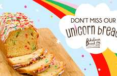 Frosting-Topped Unicorn Breads