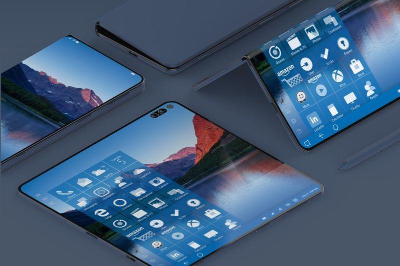 Desktop OS-Inspired Folding Smartphones
