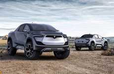 Futuristic Eco Pickup Trucks