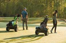 Autonomous Golf Caddie Robots