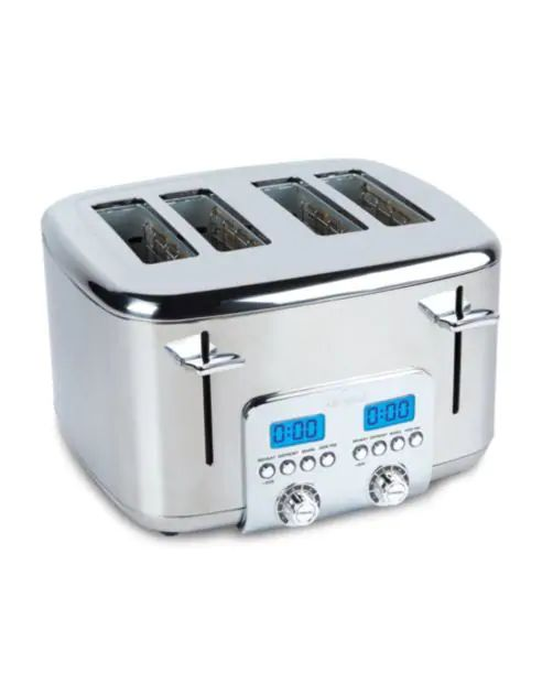 Stainless Steel Sleek Toasters