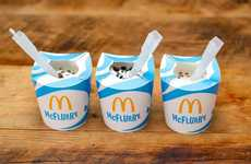 Reduced Plastic Dessert Packaging