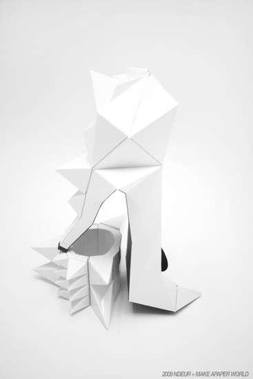 Papercraft Pumps 4