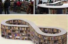 Racetrack Bookshelves