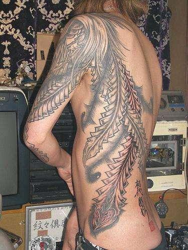 Inked Mythological Power Symbols