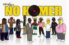 Simpsonized Rap Stars