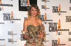 Country Music Gold Gowns