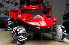 Monocoque Motorboat Cars