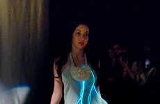 Luminously Lined Dresses