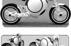 Bubble-Shaped Motorcycles