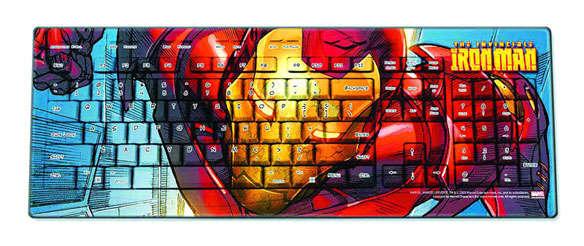 Superhero Invasion Keypads