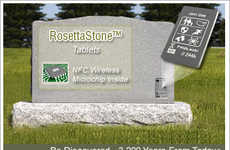 Tech-Savvy Tombstones