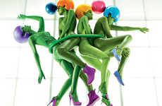 Martian Footwear Ads
