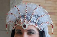 Sci-Fi Wedding Headdresses