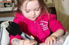 Toddler Tattoo Artists