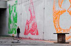 Paintball Murals