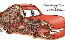 Animated Car Anatomy