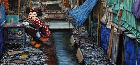 Post-Apocalyptic Disney Art